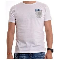 Vêtements Homme T-shirts manches courtes Ritchie T-shirt coton organique NAMPTY Blanc
