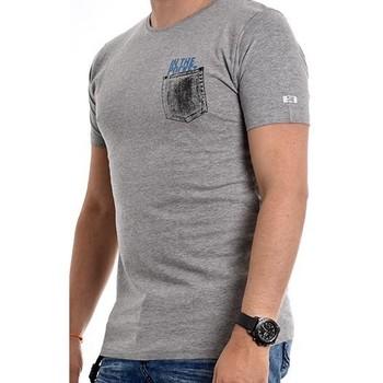 Vêtements Homme T-shirts manches courtes Ritchie T-shirt coton organique NAMPTY Gris chiné