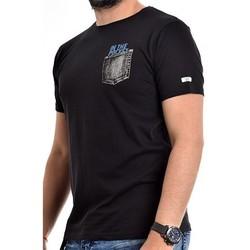 Vêtements Homme T-shirts manches courtes Ritchie T-shirt coton organique NAMPTY Noir