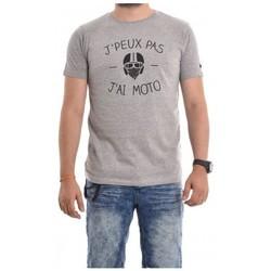Vêtements Homme T-shirts manches courtes Ritchie T-shirt coton organique NAOURS Gris chiné