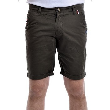 Vêtements Homme Shorts / Bermudas Ritchie Bermuda chino slim BANIKO Kaki clair
