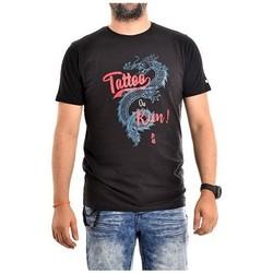 Vêtements Homme T-shirts manches courtes Ritchie T-shirt coton organique NADES Gris foncé