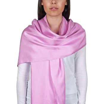 Accessoires textile Femme Echarpes / Etoles / Foulards Allée Du Foulard Etole soie unie - Couleur - Parme Parme