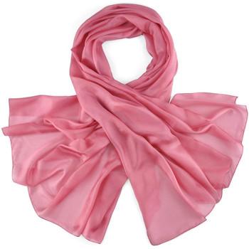 Accessoires textile Femme Echarpes / Etoles / Foulards Allée Du Foulard Etole soie unie - Couleur - vieux-rose vieux-rose