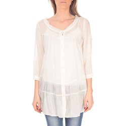 Vêtements Femme Tuniques Vision De Reve Tunique women 7055 Ecrue Beige