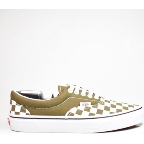 Vert Femme Vans Chaussures Baskets Basses EracheckerboardBeech Vn0a4bv4vxi1 Trwht 9YeH2bIWED