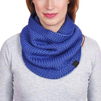 Accessoires textile Femme Echarpes / Etoles / Foulards Mokalunga Snood Horla Bleu