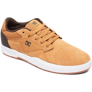 Chaussures Homme Chaussures de Skate DC Shoes BARKSDALE wheat Marron