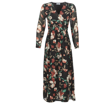 Vêtements Femme Robes longues Betty London LIMBA Noir / Multicolore