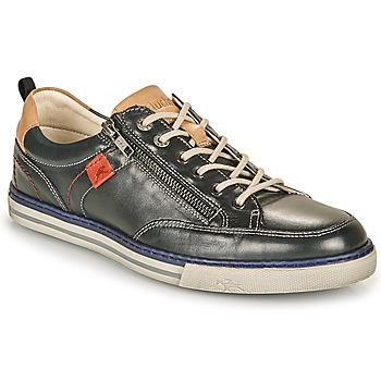 Chaussures Homme Baskets basses Fluchos QUEBEC Marine / Beige / Rouge