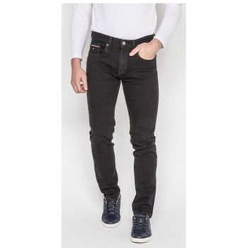 Vêtements Homme Jeans droit Ritchie Jean coupe ajustée SYLIAN Noir