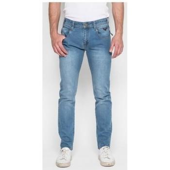 Vêtements Homme Jeans slim Ritchie Jean coupe ajustée SUGORY Bleu clair