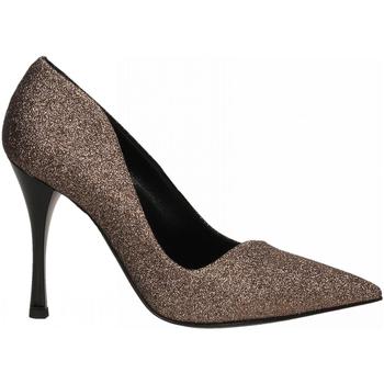 Chaussures Femme Escarpins Ororo DECOLLETE GLITTER bronzo
