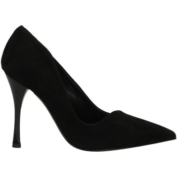 Chaussures Femme Escarpins Ororo DECOLLETE CAMOSCIO nero