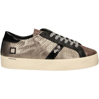 Chaussures Femme Baskets basses Date HILL DOUBLE ROOF LAMINATED piombo
