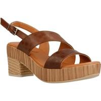 Chaussures Femme Sandales et Nu-pieds Mikaela 17071 Marron