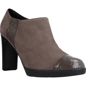Chaussures Femme Low boots Geox D ANNYA HIGH Marron