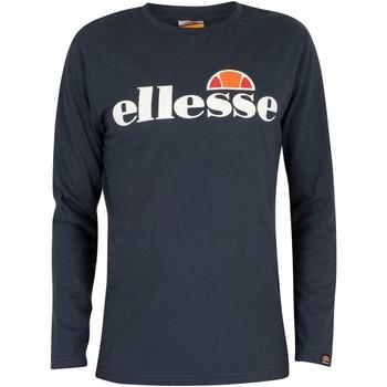 Vêtements Homme T-shirts manches longues Ellesse Homme SL Grazie T-shirt à manches longues, Bleu bleu