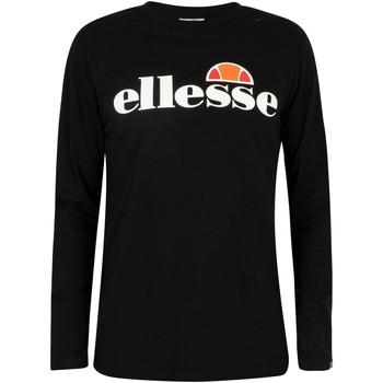 Vêtements Homme T-shirts manches longues Ellesse Homme SL Grazie T-shirt à manches longues, Noir noir