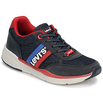 Chaussures Enfant Baskets basses Levi's OREGON Marine / Rouge