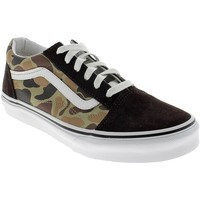 Chaussures Garçon Baskets basses Vans VINTAGE CAMO OLD SKOOL MARRONI Marron