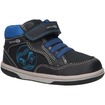 Chaussures Garçon Baskets montantes Geox B9437A 0MEAF B FLICK Azul
