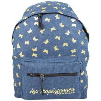 Sacs Enfant Sacs à dos Les Tropéziennes par M Belarbi Sac à dos Les Tropéziennes motif papillon Arcachon Bleu 1S Multicolor