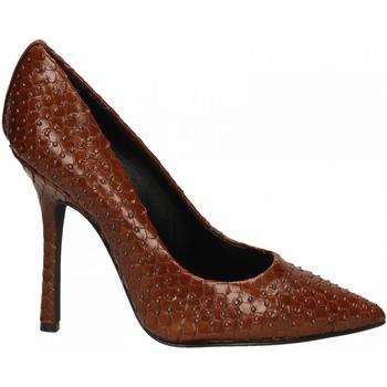 Chaussures Femme Escarpins Marc Ellis VIPERA CON BORCHIE BRONZO cuoio