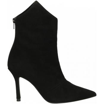 Chaussures Femme Bottines Marc Ellis CAMOSCIO nero