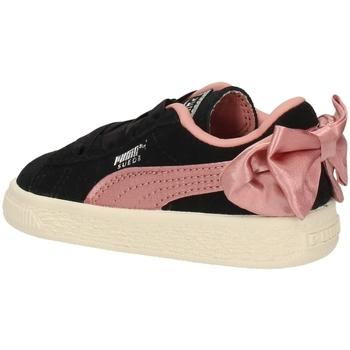 Chaussures Fille Baskets basses Puma 367320-18 NOIR