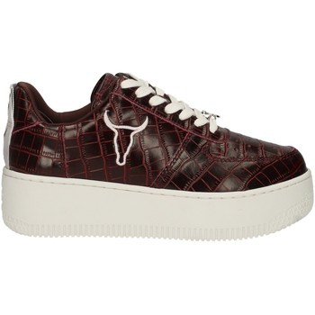 Chaussures Femme Baskets basses Windsor Smith RACERR BORDEAUX