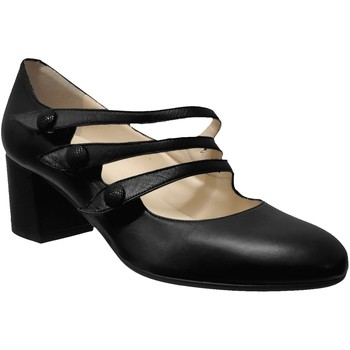Chaussures Femme Escarpins Brenda Zaro F3505 Noir cuir