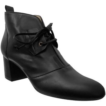 Chaussures Femme Bottines Brenda Zaro F2961 Noir cuir