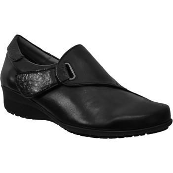 Chaussures Femme Mocassins Folies Gil Noir cuir