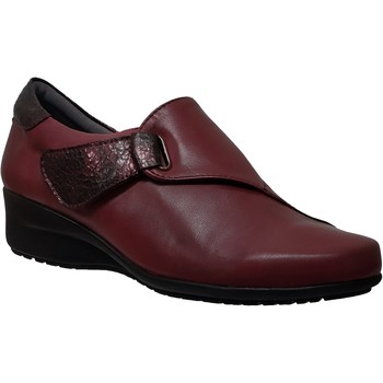 Chaussures Femme Mocassins Folies Gil Rouge cuir