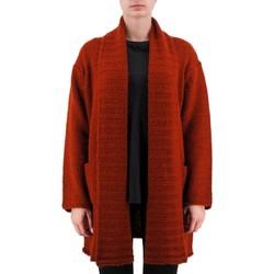 Vêtements Femme Gilets / Cardigans Anonyme Demeter Pull en laine epaisse marron  ANYP259F Marron