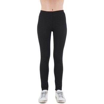 Vêtements Femme Leggings Anonyme Glenda - Pantalon lopard noir  ANYP139FP148B Noir