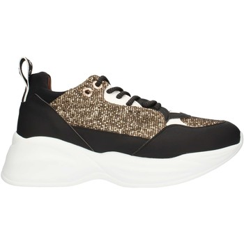 Chaussures Femme Baskets basses Alexander Smith SP73896 Or noir et blanc