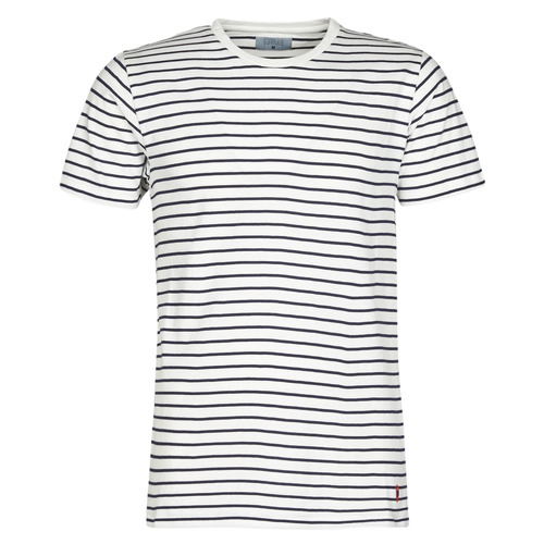 Vêtements Homme T-shirts manches courtes Yurban KINO Marine / Blanc