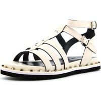 Chaussures Femme Sandales et Nu-pieds Cris Vergre'  Bianco