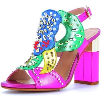 Chaussures Femme Sandales et Nu-pieds Albano  Fucsia multi
