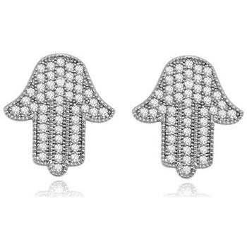 Montres & Bijoux Femme Boucles d'oreilles Blue Pearls PDC C329 Blanc