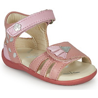 Chaussures Fille Sandales et Nu-pieds Kickers BICHETTA Rose