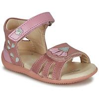 Chaussures Fille Comme Des Garcon Kickers BICHETTA Rose