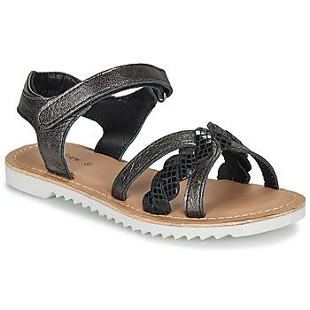 Chaussures Fille Sandales et Nu-pieds Kickers SHARKKY Noir