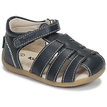 Chaussures Garçon Sandales et Nu-pieds Kickers BIGFLO-3 Marine