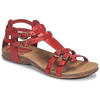 Chaussures Femme Sandales et Nu-pieds Kickers ANA Rouge