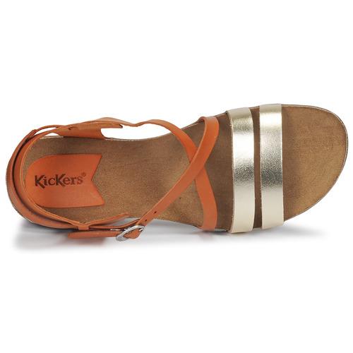 Anatomium Kickers Sandales Et Nu-pieds Femme Camel / Doré 3Z67s65d