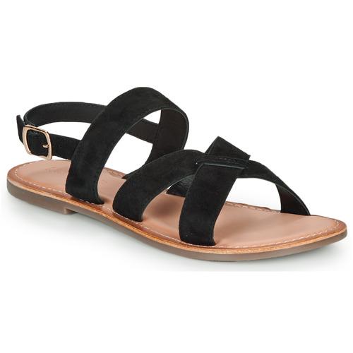 Chaussures Femme Sandales et Nu-pieds Kickers DIBA-3 Noir