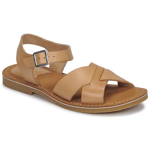 Chaussures Femme Sandales et Nu-pieds Kickers TILLY Beige